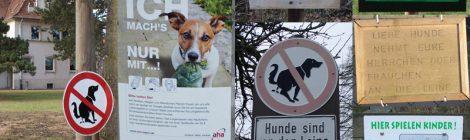 Anleinpflicht für Hunde bis 15. Juli!