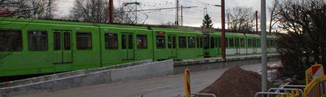 Hochbahnsteige in Badenstedt