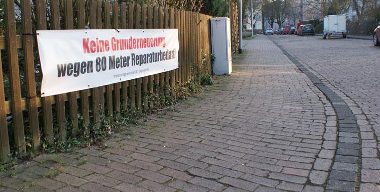 Kolpingstr.: Anwohner wehren sich!