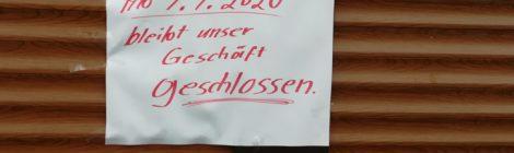 """""""Michler"""" geschlossen!"""