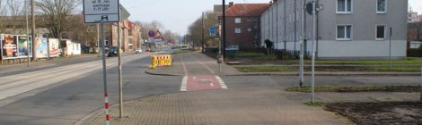Bauarbeiten Badenstedter Straße