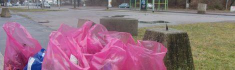 Bürgerverein Badenstedt sammelt Müll