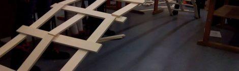 FES: Da Vinci Brücke über die Fösse!