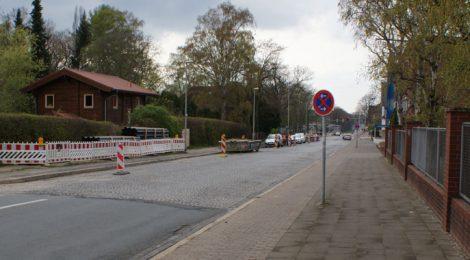 Baumaßnahmen in der Badenstedter Straße