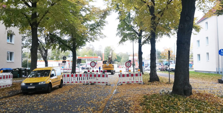 19.10.20: Sperrung Petermannstraße