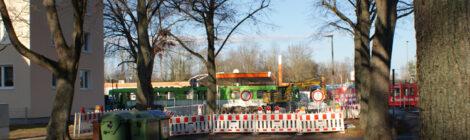 Infra Bauarbeiten Badenstedter Str. / Hochbahnsteige